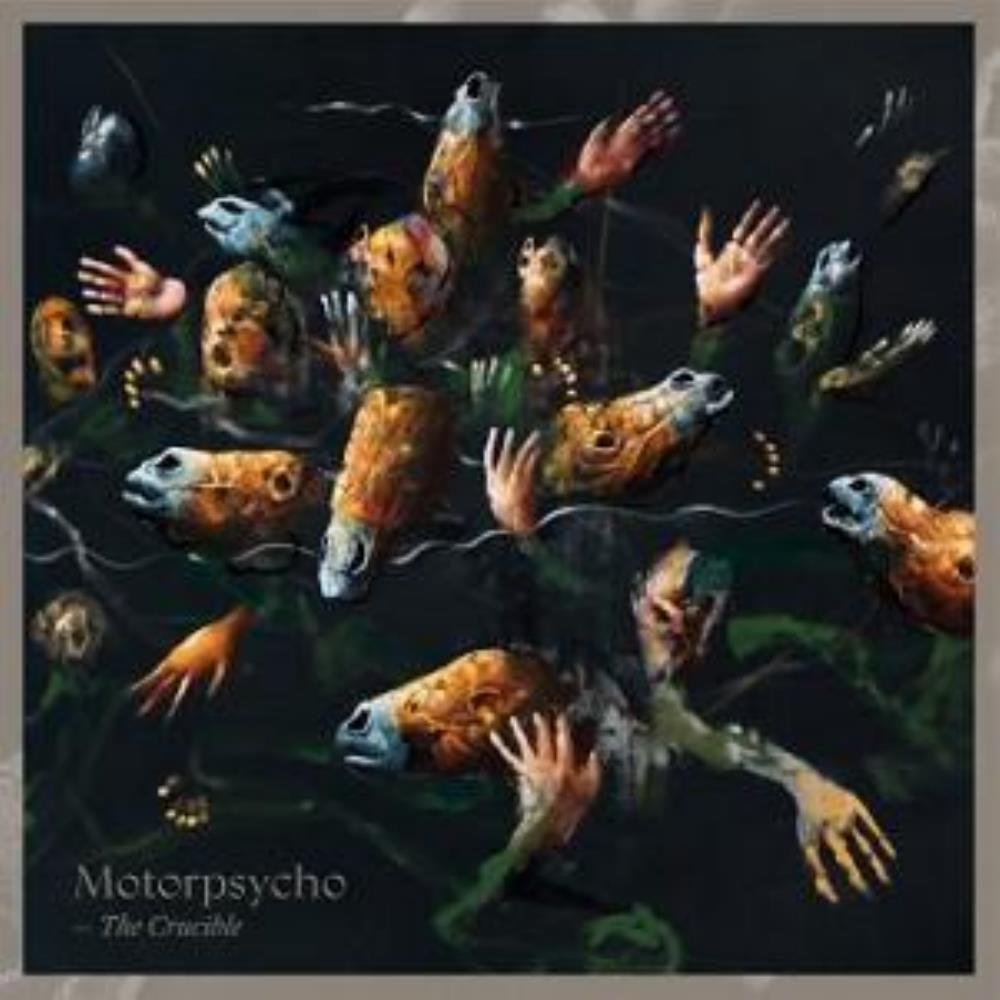 The Crucible by MOTORPSYCHO album cover
