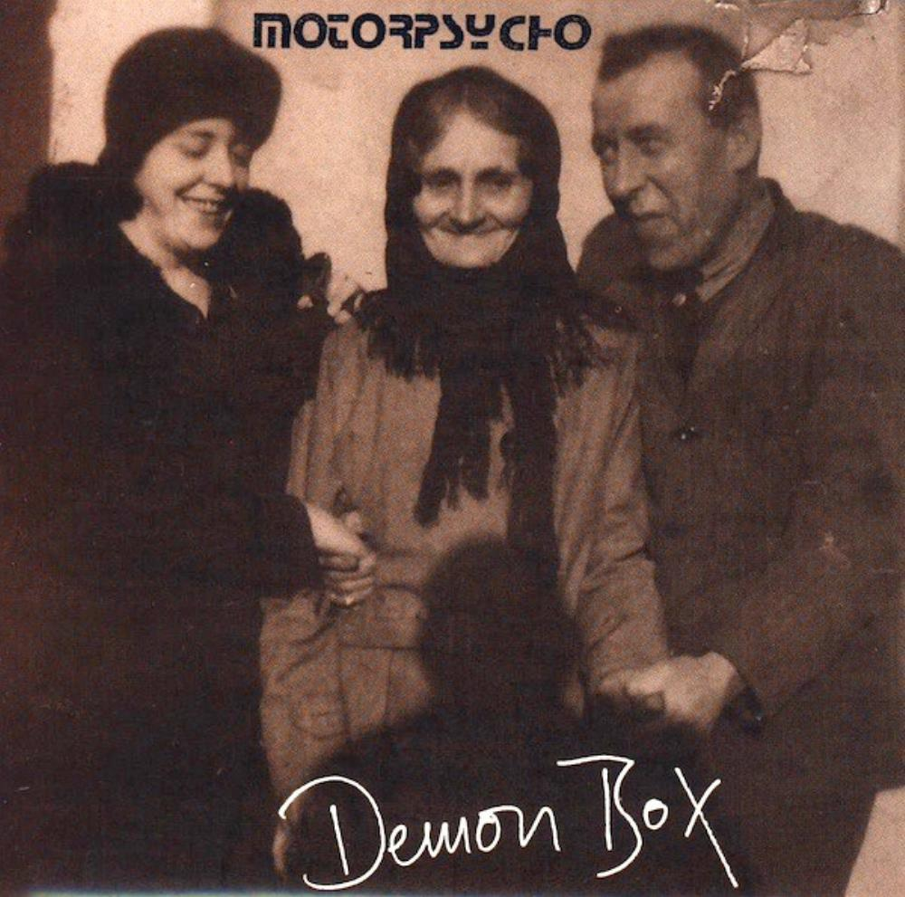Demon Box by MOTORPSYCHO album cover