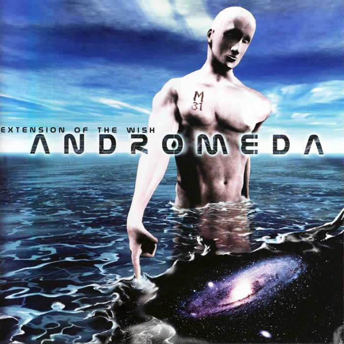Andromeda - Extension of the Wish  CD (album) cover