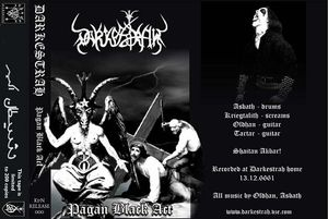 Darkestrah Pagan Black Act album cover