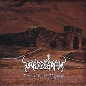 Darkestrah The Way To Paganism album cover