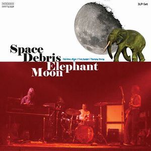 Space Debris Elephant Moon album cover