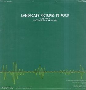 Asia Minor - Landscape Pictures In Rock CD (album) cover