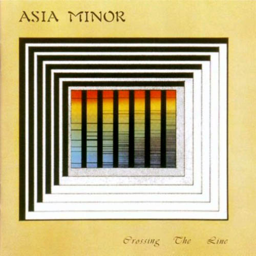 Asia Minor - Crossing The Line  CD (album) cover