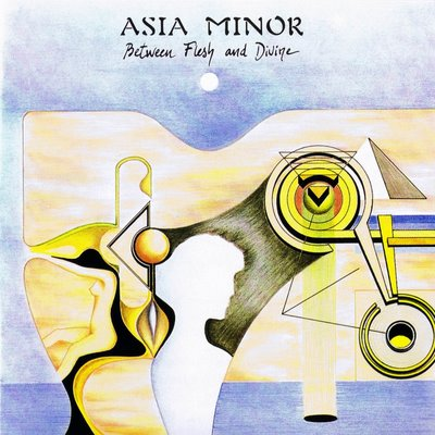 Asia Minor - Between Flesh And Divine  CD (album) cover