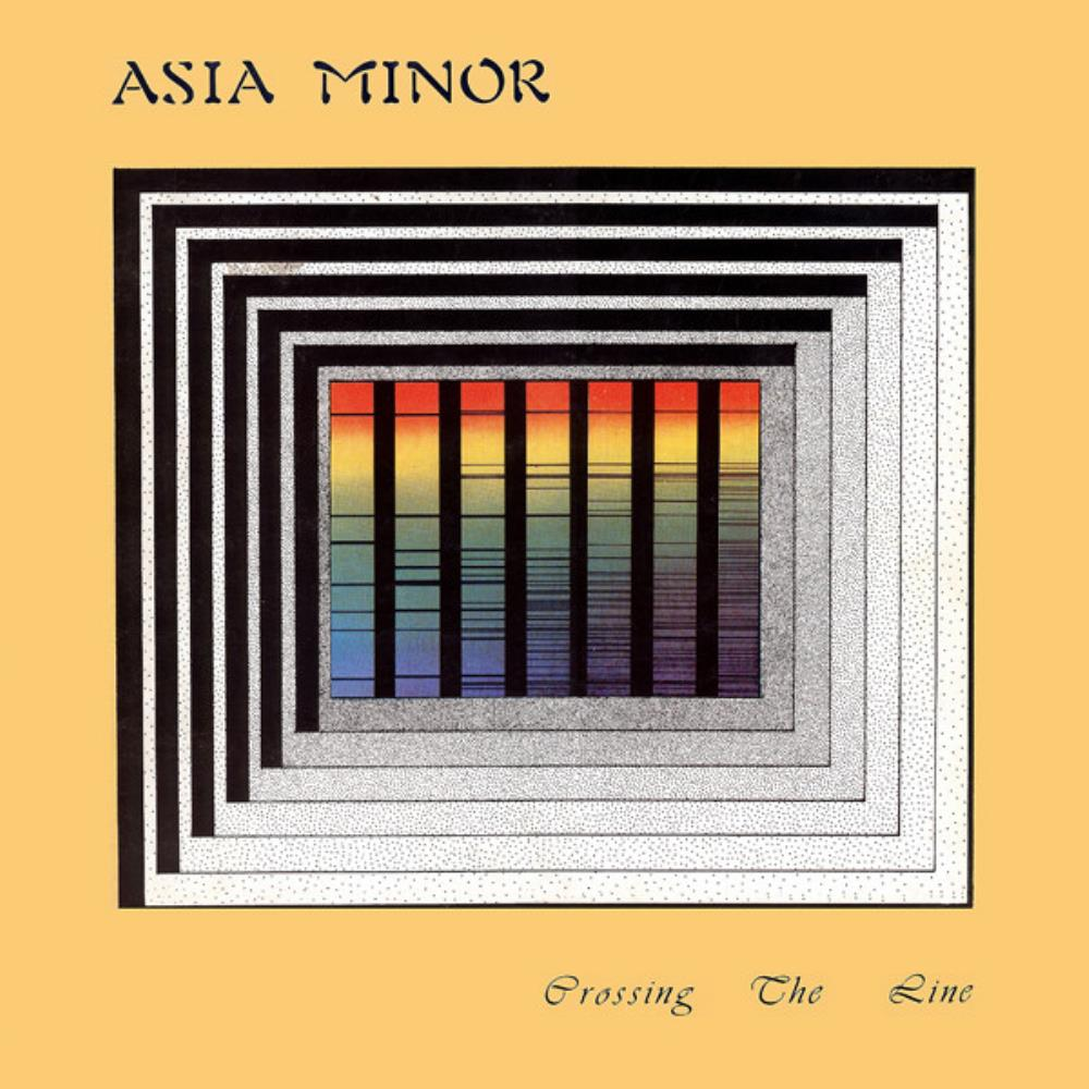 Crossing The Line by ASIA MINOR album cover
