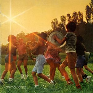 Lucio Battisti Anima Latina album cover