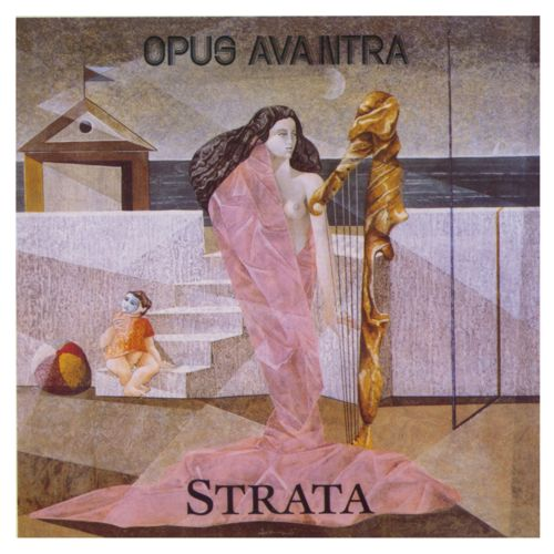 Opus Avantra - Strata CD (album) cover