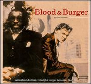 James Blood Ulmer Guitar Music (with Rodolphe Burger) album cover