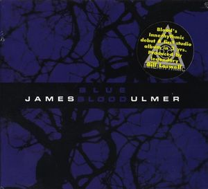 James Blood Ulmer Blue Blood album cover