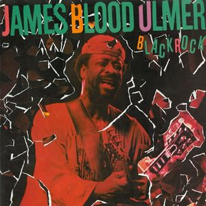 James Blood Ulmer Black Rock album cover