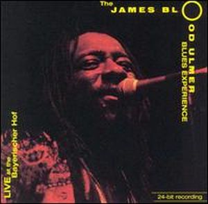 James Blood Ulmer Live at the Bayerischer Hof album cover