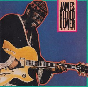 James Blood Ulmer Free Lancing album cover