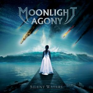 Moonlight Agony Silent Waters album cover