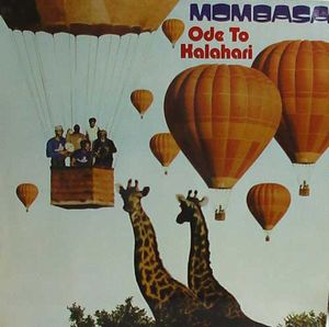 Mombasa Ode To Kalahari album cover