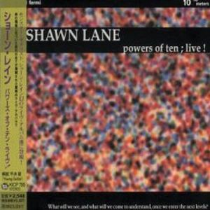 Shawn Lane - Powers of Ten Live! CD (album) cover