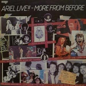 Live!! - More From Before by ARIEL album cover