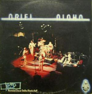 Ariel - Aloha CD (album) cover