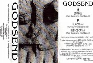 Demo 1992 by GODSEND album cover