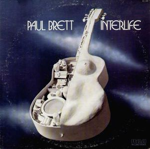 Paul Brett - Interlife CD (album) cover