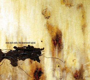 The Downward Spiral by NINE INCH NAILS album cover