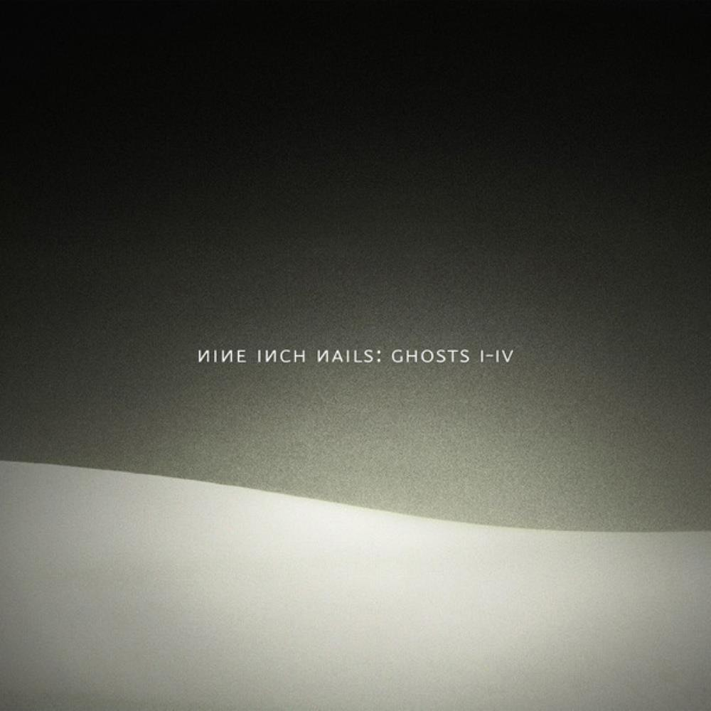 Ghosts I-IV by NINE INCH NAILS album cover