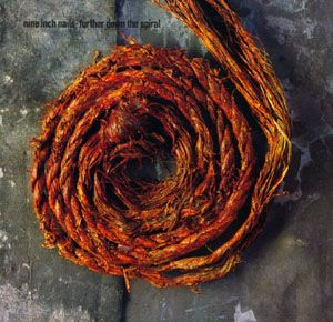 Nine Inch Nails - Further Down the Spiral CD (album) cover