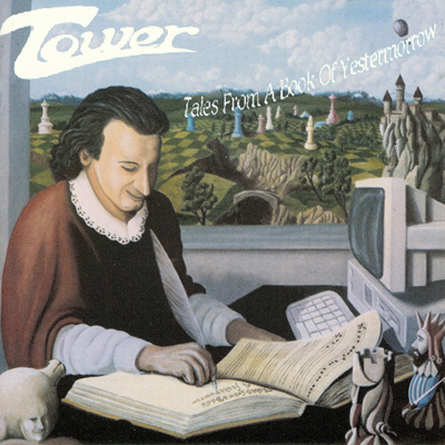 Tower - Tales From A Book Of Yestermorrow CD (album) cover