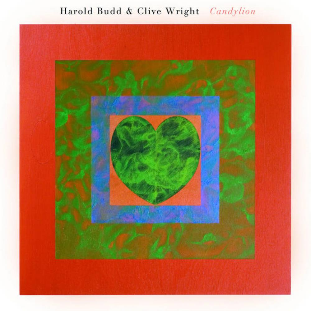 Harold Budd Harold Budd & Clive Wright: Candylion album cover