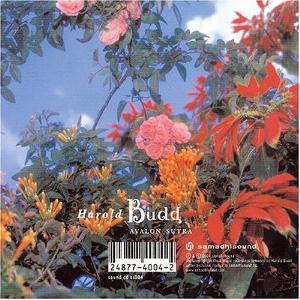 Harold Budd - Avalon Sutra - As Long as I Can Hold My Breath CD (album) cover