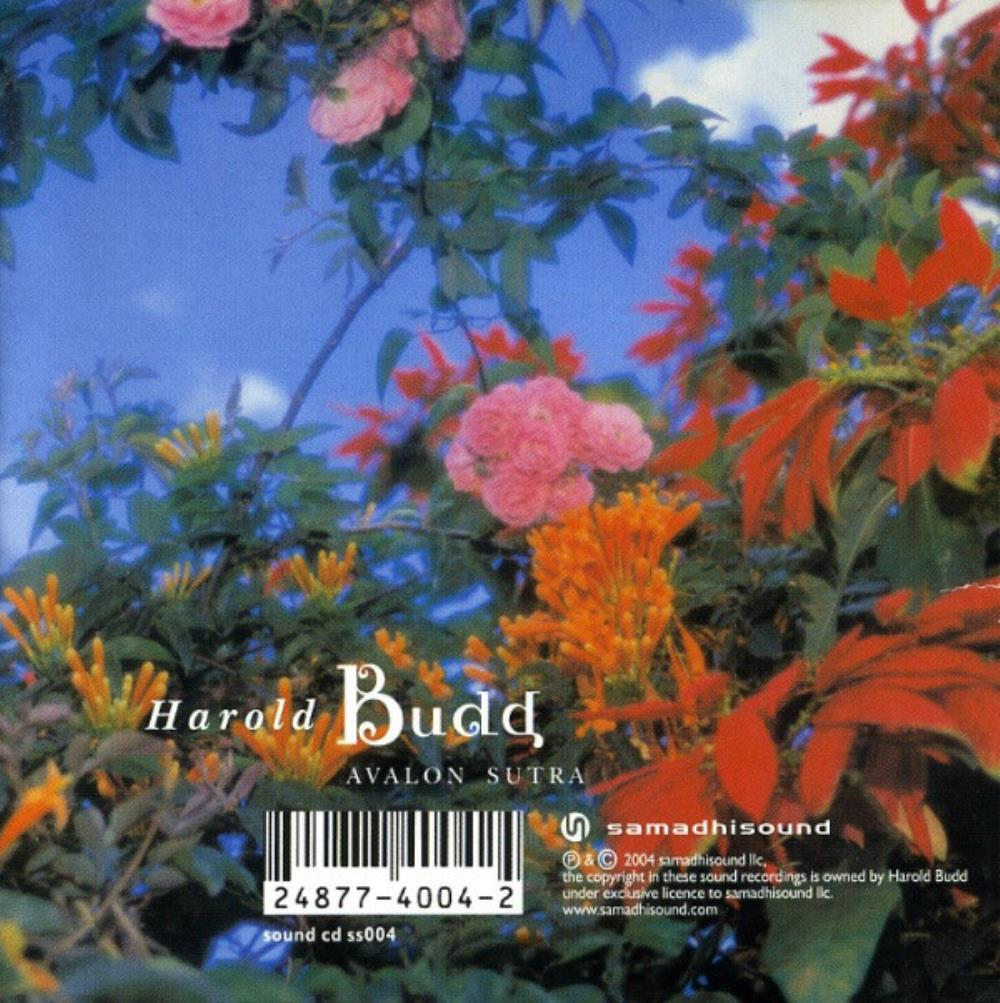 Harold Budd - Avalon Sutra / As Long As I Can Hold My Breath CD (album) cover