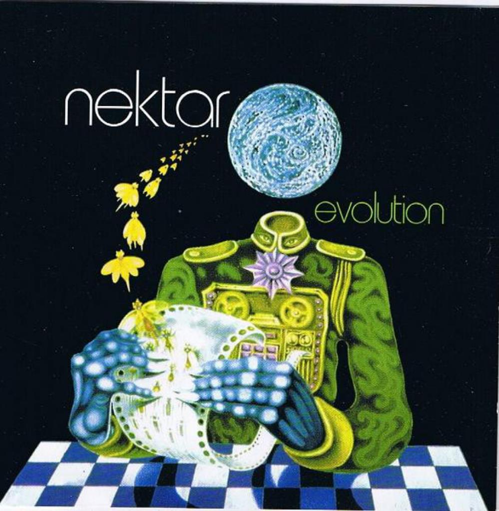 Nektar - Evolution CD (album) cover
