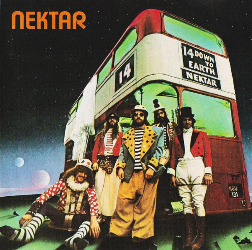 Nektar - Down To Earth CD (album) cover