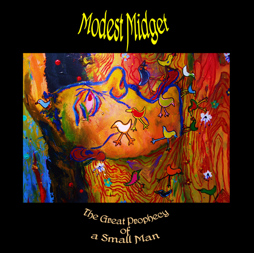 Modest Midget The Great Prophecy of a Small Man album cover