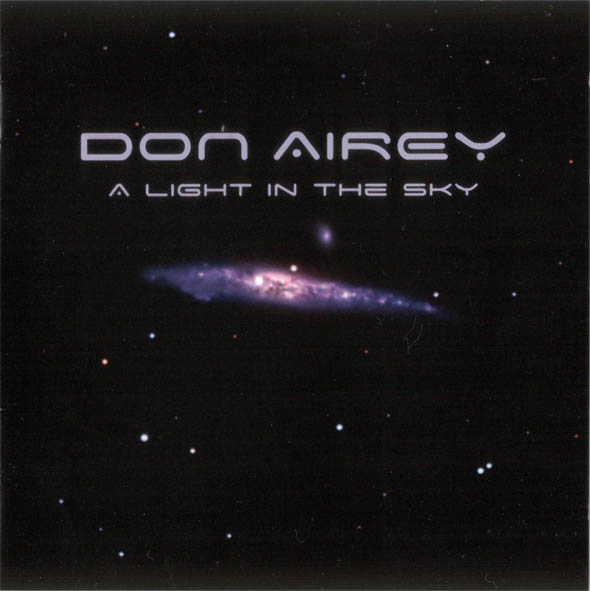 A Light in the Sky by AIREY, DON album cover