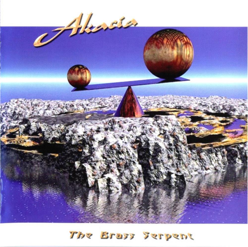 Akacia - The Brass Serpent CD (album) cover