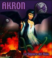 Akron - La Signora del Buio CD (album) cover