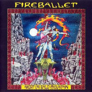 Night On Bald Mountain by FIREBALLET album cover