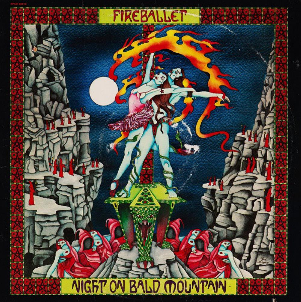 Fireballet - Night On Bald Mountain CD (album) cover