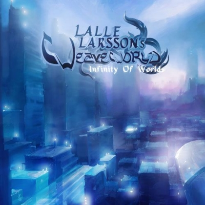 Lalle Larsson - Infinity of Worlds CD (album) cover