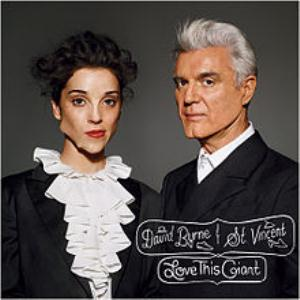 David Byrne Love This Giant (with St.Vincent) album cover