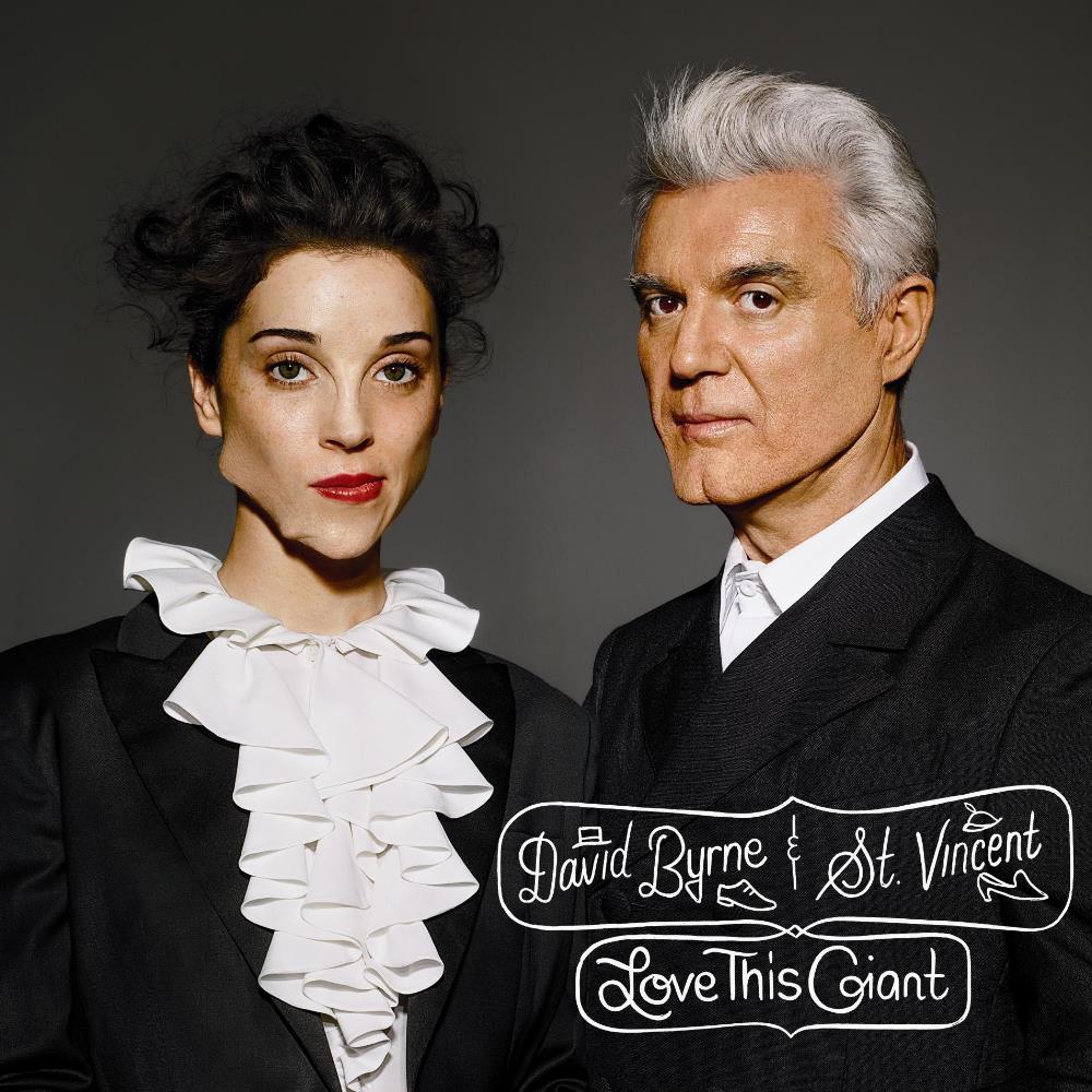 David Byrne & St. Vincent: Love This Giant by BYRNE, DAVID album cover