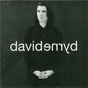 David Byrne - David Byrne CD (album) cover