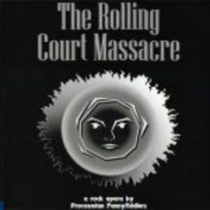The Rolling Court Massacre by PROCOSMIAN FANNYFIDDLERS album cover
