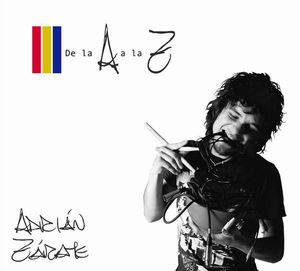 Adrián Zárate - De La A A La Z CD (album) cover