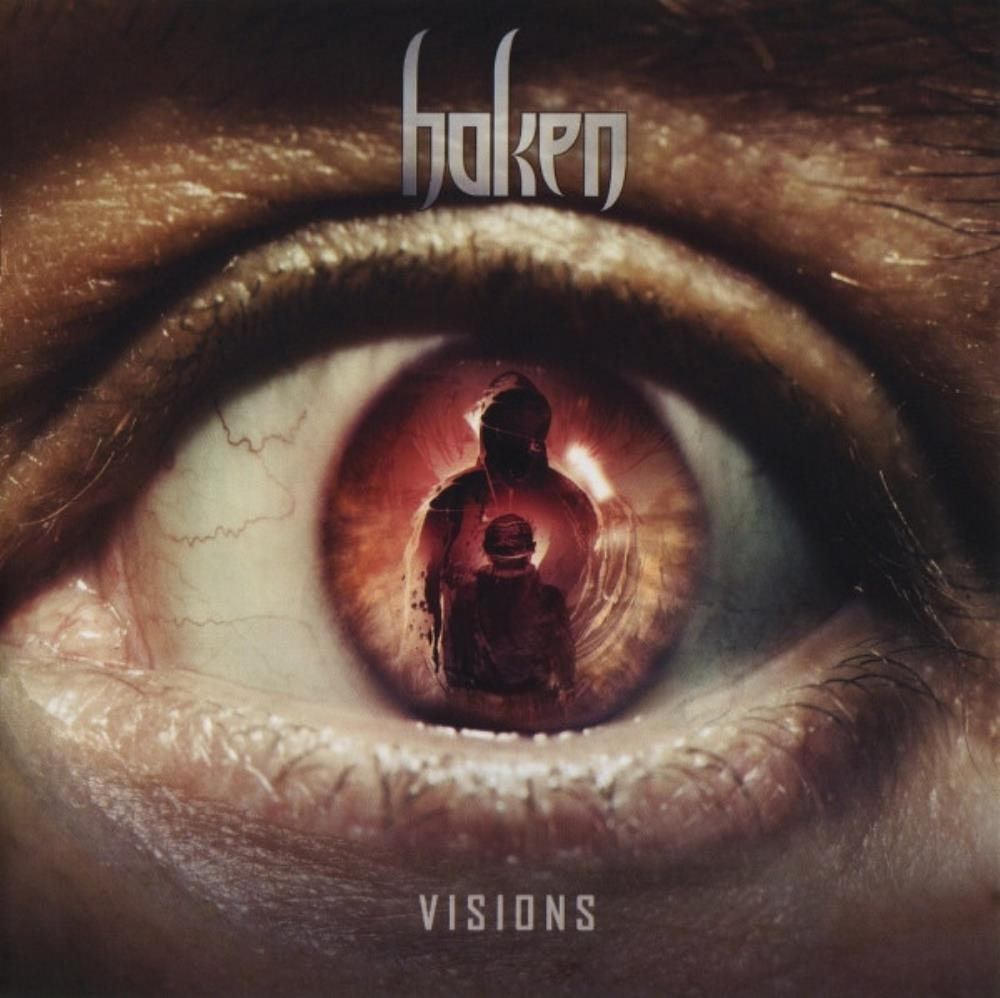 Visions by HAKEN album cover