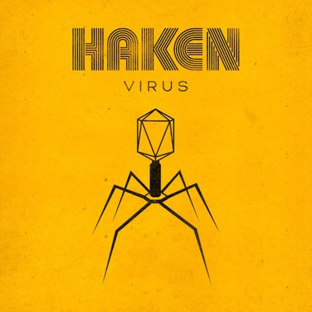 Virus by HAKEN album cover