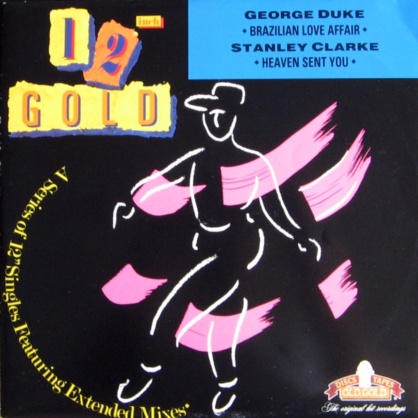 George Duke - Brazilian Love Affair / Heaven Sent You (split with Stanley Clarke) CD (album) cover