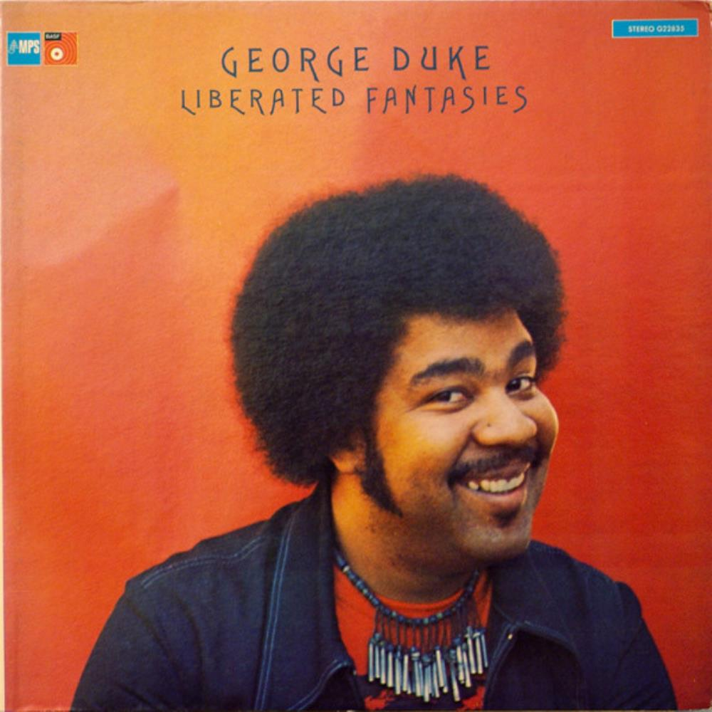 George Duke - Liberated Fantasies CD (album) cover