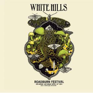 White Hills Live At Roadburn 2011 album cover